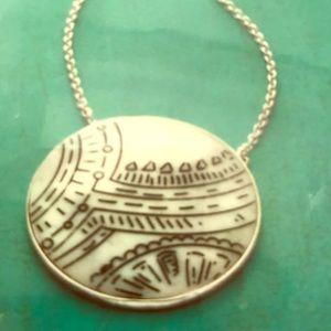 Silpada Scrimshaw Necklace Item N3017